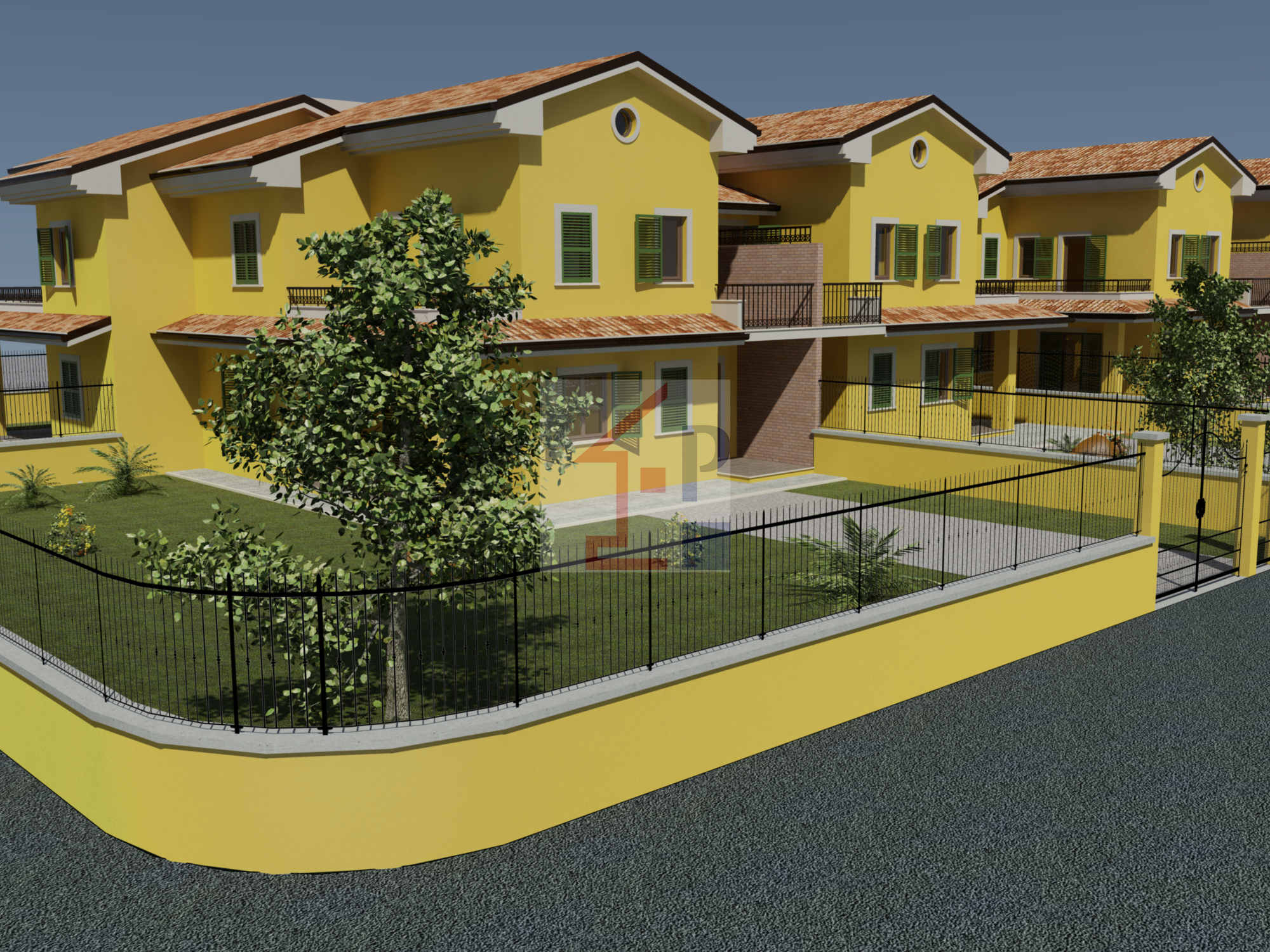 Villa quadrifamiliare in vendita ad Isola del Liri