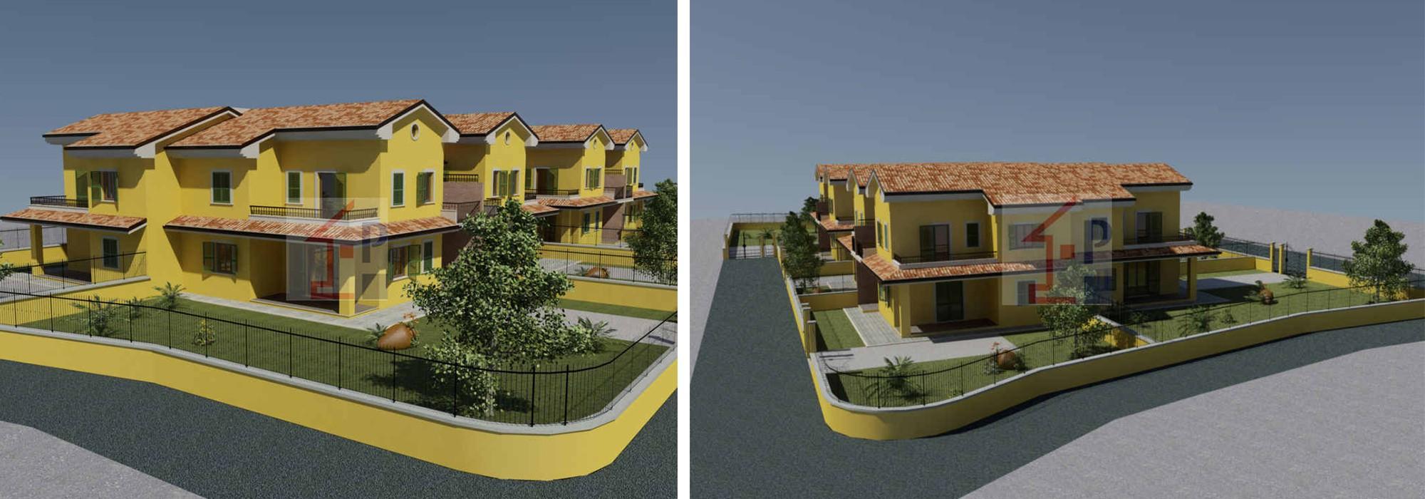 Villa Quadrifamiliare in Vendita a Isola del Liri